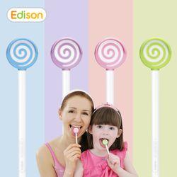 유아 어린이 성인 항균 혀클리너 백태 사탕모양 핑크