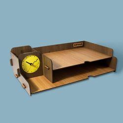브론즈하우스 TWD-005 DIY 멀티 책상 정리 수납함