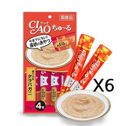 이나바 챠오 츄루 14gx4p-참치 게살[SC-108] X6봉고양이간식