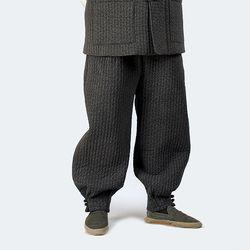 2212 남자 겨울 포근한 밍크털 안감 솜누빔 바지