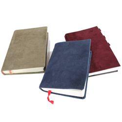 책커버리폼 책표지바꾸기 가죽공예 스웨이드원단 A형