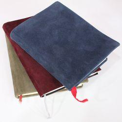 책커버리폼 책표지바꾸기 가죽공예 스웨이드원단 B형