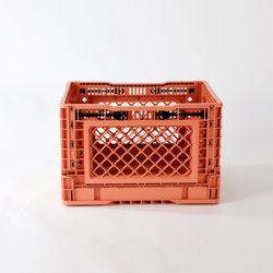 접이식 밀크박스 25리터 핑크