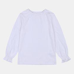 셔링 베이직 긴팔 티셔츠 IDLA19F50