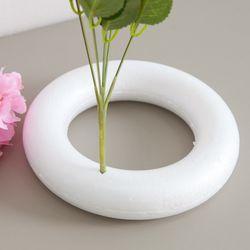스티로폼링(고강도) 20cm 조화 DIY 재료 장식 FDIYFT