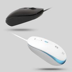 가볍고 조용한 무소음 USB 유선 마우스