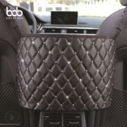 bob 퀼팅 자동차 콘솔박스 뒷좌석 틈새 다용도포켓