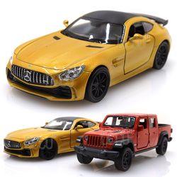 웰리 벤츠 AMG GTR + 지프 글래디에이터 미니카 2P 세트