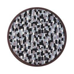 스톡홀름 논슬립 원형방석 슬레이트 체인 37cmx37cm (8style)