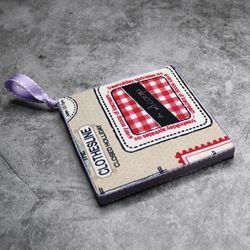 홈메디 컵받침 냄비받침 만들기-빈티지스탬프
