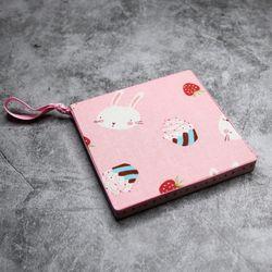 홈메디 컵받침 냄비받침 만들기-딸기토끼