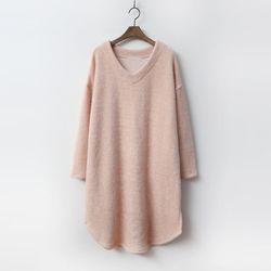Gimo Rubi V-Neck Dress