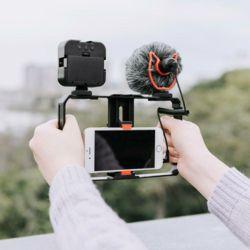 개인 방송 유튜브 촬영 장비 LED조명 마이크 삼각대