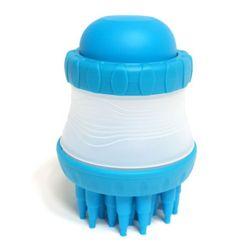 천국 거품 샤워브러쉬 블루 반려견 목욕 용품