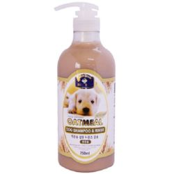 강아지 각질 피부 탄력보습 오트밀 샴푸린스 750ml