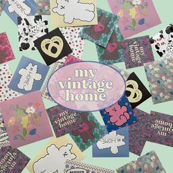 my vintage home sticker pack