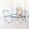 에이드 플리아 체어 투명 카페 인테리어 접이식 의자