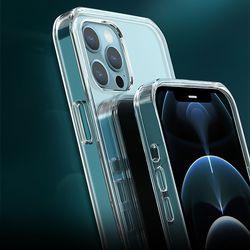 아이폰 12 투명 하드 범퍼 TPU 케이스