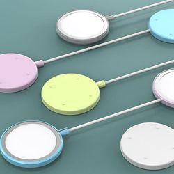 아이폰 맥세이프 무선 충전기 보호 실리콘 케이스