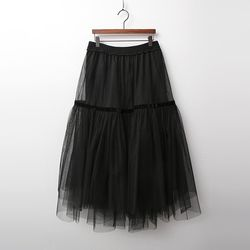 Princess Cha Tutu Long Skirt