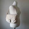 나일론 버클 사각 여자 사각 플랩 숄더백 (3color)