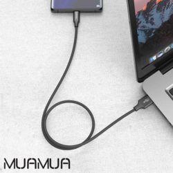MUAMUA 기본C타입QC3.0데이터충전케이블2M
