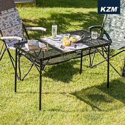 [카즈미] 유니온 아이언메쉬 3폴딩 테이블 K20T3U005