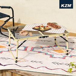 [카즈미] 아이언메쉬 슬림미니 테이블 (샌드) K20T3U002BE