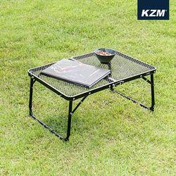 [카즈미] 아이언메쉬 슬림미니 테이블 (블랙) K8T3U011