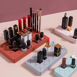 더이쁜 실리콘 화장품 정리함 실리콘꽂이 메이크업 틴트 보관함