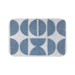하라홈 부드러운 반달 패턴 사각 발매트