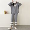 Very Soft Home V-Neck Pajama Set  - 극세사