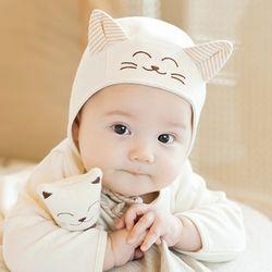 귀쫑긋 스마일캣 신생아 모자(원사이즈) 204305