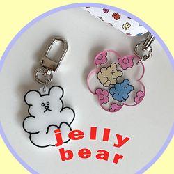 jelly bear key ring (키링)