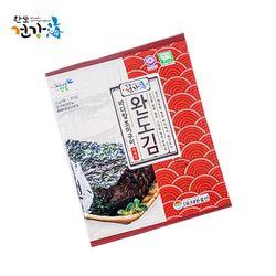 청정 완도군 완도김(조미김) 6매 20g