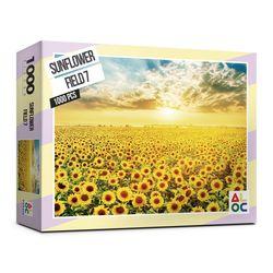 (알록퍼즐)1000피스 해바라기 들판7 직소퍼즐 AL3010