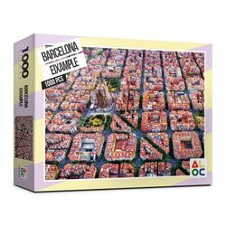 (알록퍼즐)1000피스 바르셀로나 에삼플레 직소퍼즐 AL3007