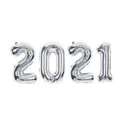 숫자은박세트 소 2021 실버