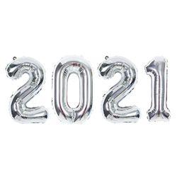 숫자은박세트 중 2021 실버