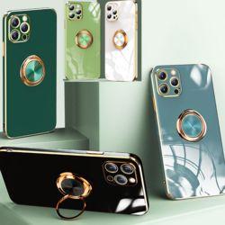 아이폰se2 7 8플러스 그립톡 카메라보호 글리터케이스