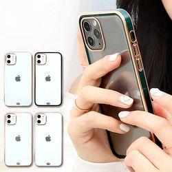 HI 골드라인 젤리 케이스 아이폰 커버