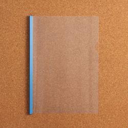 스터디플랜 투명 쫄대파일(블루)
