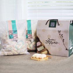 [무료배송] 해담한과 찹쌀유과 1kg 한과 선물세트 명절 설 추석