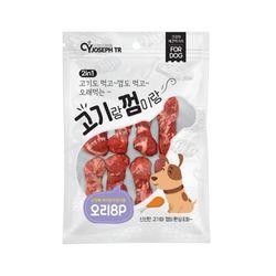 프리미요 고기랑 껌이랑 8p(오리)