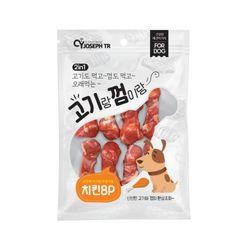 프리미요 고기랑 껌이랑 8p(치킨)