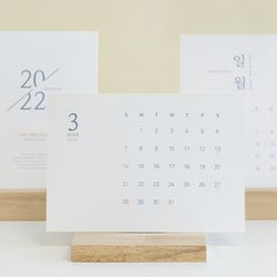 2021 한글 달력 심플 데스크 캘린더 (박스세트)