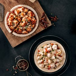 포켓쉐프 닭가슴살 피자 2종 세트 (마라맛 크림맛)