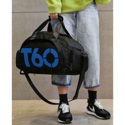T60 스포츠 더플백(블랙블루)