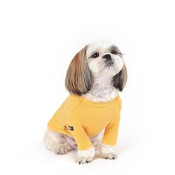 WEFAM 알파벳 티셔츠-Yellow