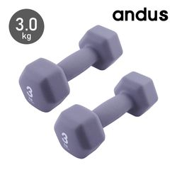 앤드어스 육각 네오프랜 아령 3.0kg 2개